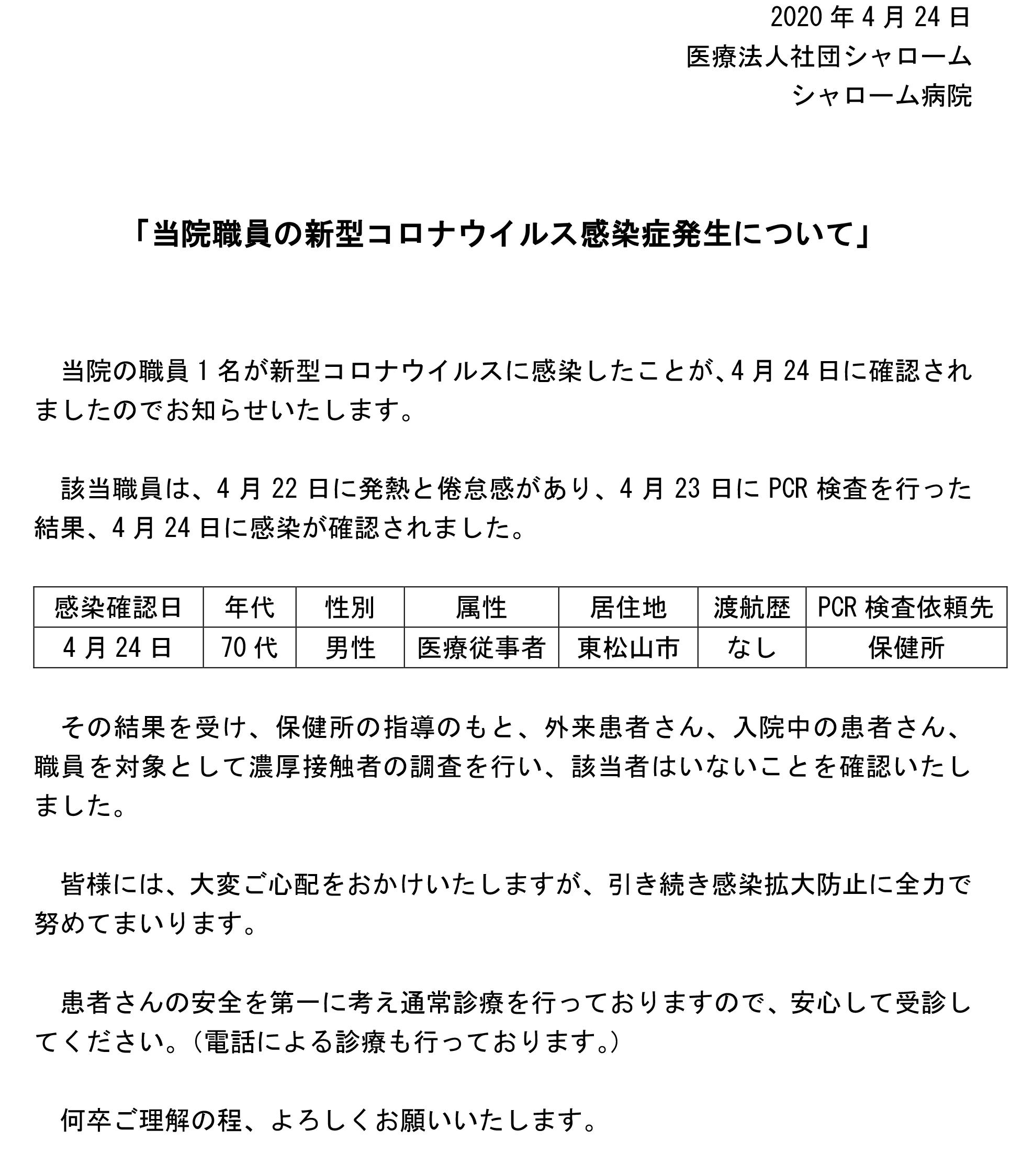 東松山 コロナ 死亡